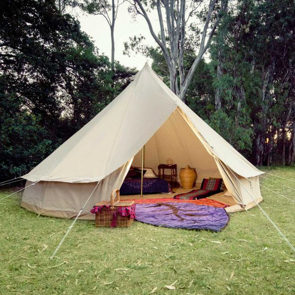 5 Metre Bell Tent Psyclone Tents Spacious And Comfortable