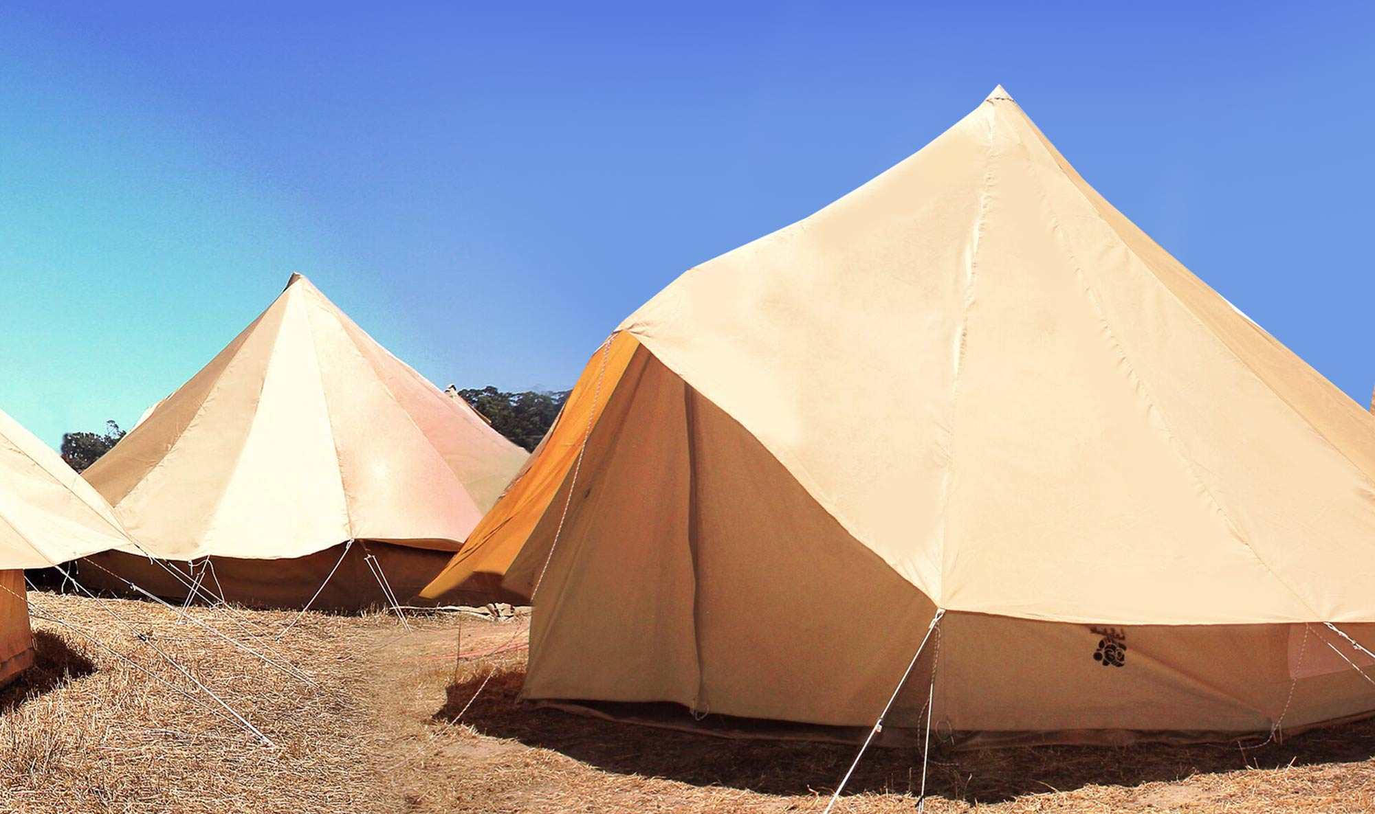 Bell tent cover