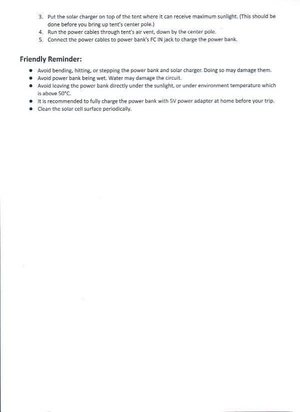 Solar Panel user guide 2