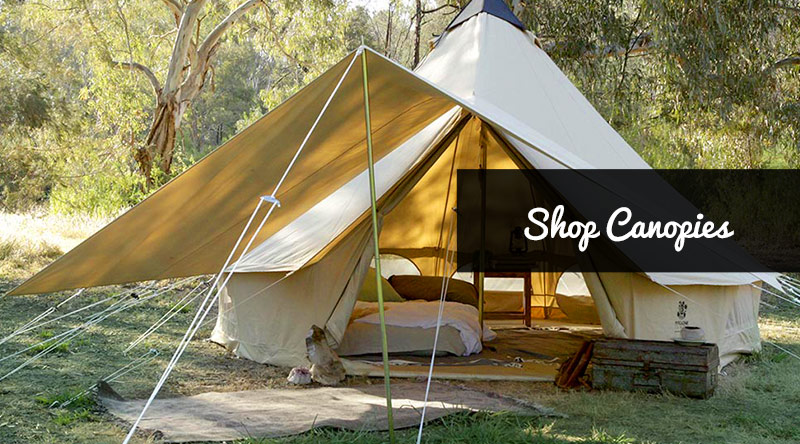 Instagram & Psyclone Tents - Canvas Bell Tents for Camping Festivals