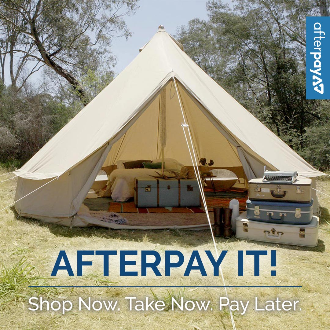 Afterpay – Psyclone Tents