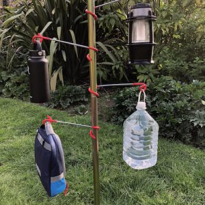 Hanger for bell tent centre pole