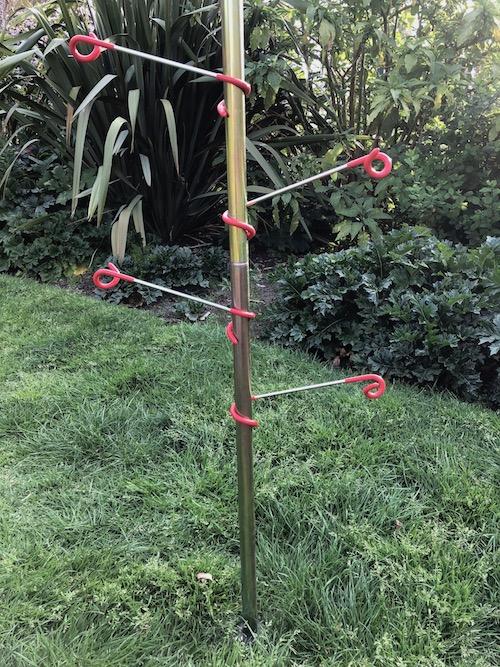 Hanger for bell tent