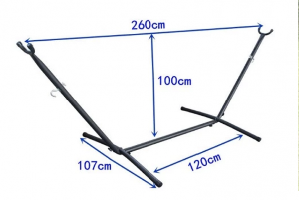 Hammock stand dimensions